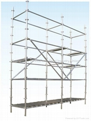 Construction Frame Platform Walk Through Mobile Scaffold Towers Mobile Scaffold