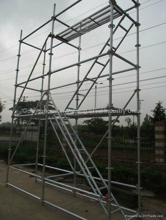 Construction Frame Platform Walk Through Mobile Scaffold Towers Mobile Scaffold 2