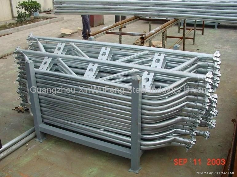 Construction Frame Platform Walk Through Mobile Scaffold Towers Mobile Scaffold 4