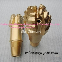 4 Inch 4 Blades Steel Body Dam and Geothermal Well PDC Drill Bit