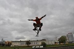 jumping stilt skyrunner jumping shoes