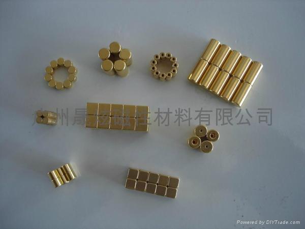 晶鋼門磁鐵 1
