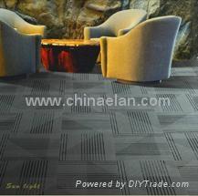 durable office nylon carpet tiles