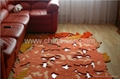 Hand Tufted Flower Carpet Amp Rugs Carved Hollow Out