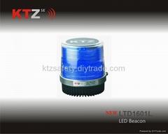 blue color magnetic piranha LED traffic beacon(LTD1601L)