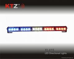 LED traffic advisor signal directional warning lights