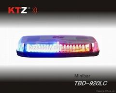 police car 1W high power LED power form warning flashing lightbar (TBD-920LC)