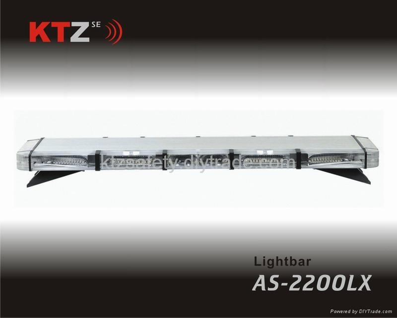 super thin LED strobe lightbar,low profile warning Lightbar(AS-2200LX) 1