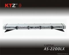 super thin LED strobe lightbar,low profile warning Lightbar(AS-2200LX)