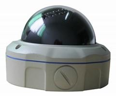 130万安防监控设备高清网络半球摄像机