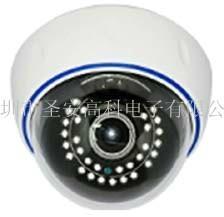 130万安防监控设备高清半球摄像机