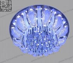 現代水晶吸頂燈