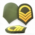 military embroidery custom patches