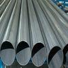 Oval steel pipe