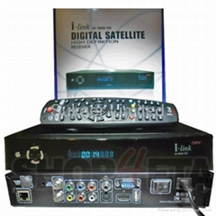 i-Link iS 9600HD PVR Recording FTA Satellite Receiver