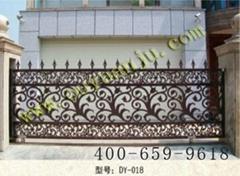 歐式別墅鑄鋁庭院大門