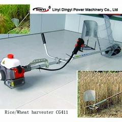 gasoline engine rice and harvester