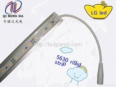 12v 5630smd led light bar with milk butt plug and PC cover led light rigid bar