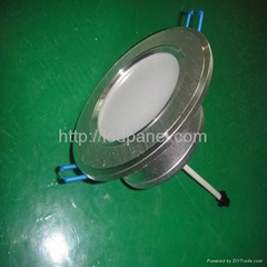 3w glass cover,stain aluminum face with driver led ceiling lamp