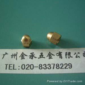 銅蓋型螺母 1