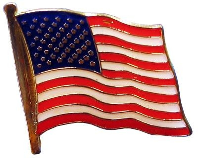 soft enamel flag lapel pin 2