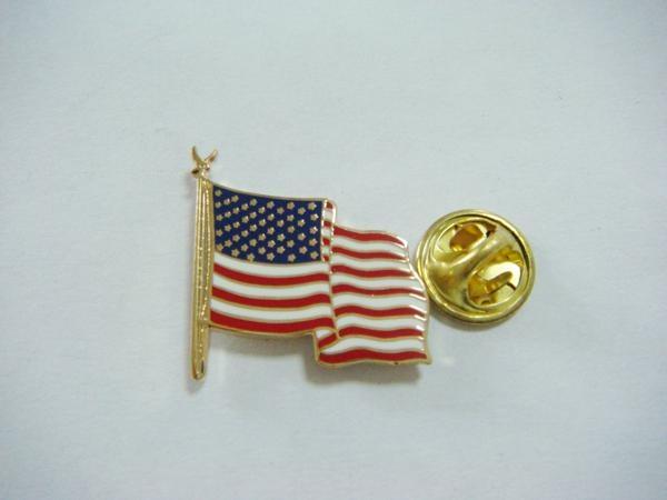 soft enamel flag lapel pin 4