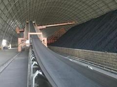 Flame-retardant conveyor belt