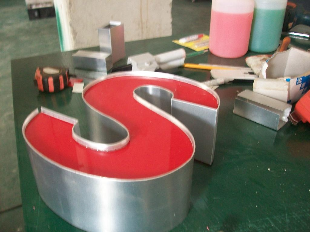 Steel Letter Cutting Cnc Channel Letter Bending Machine For Alumium And Stainless Steel