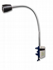 clip-on wall mounted hospital led exam light for dental ent veterinary