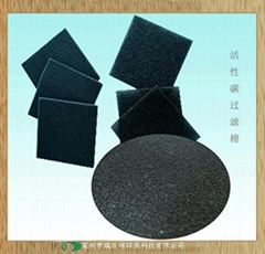 蜂窝活性炭过滤棉