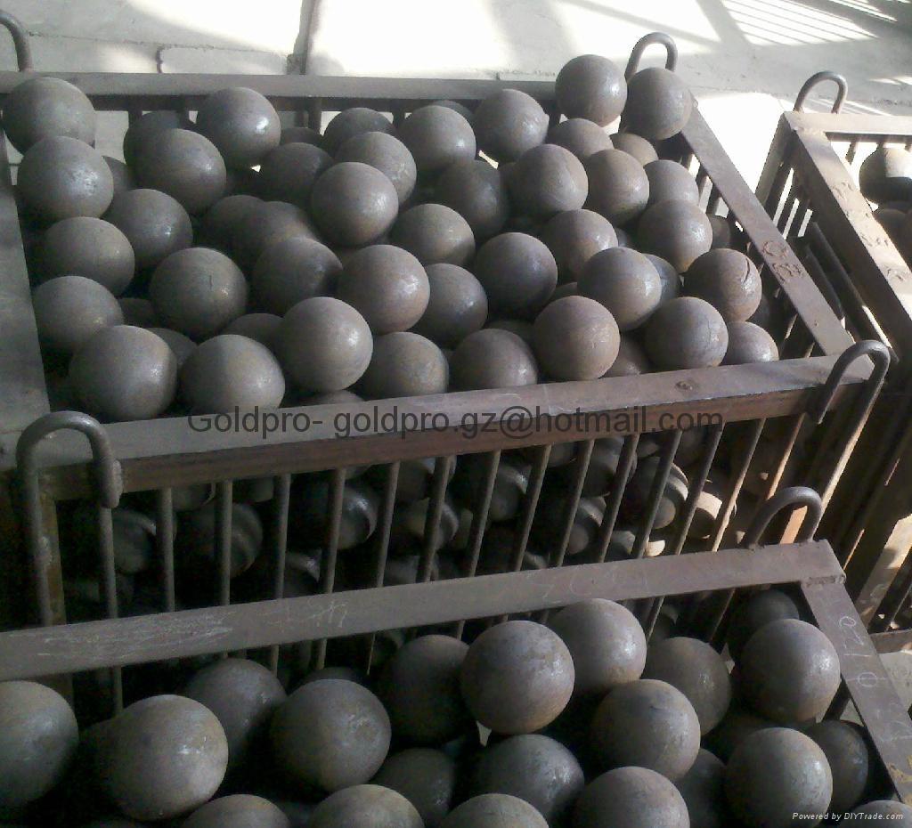 low wear value steel grinding balls 2