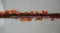 Halloween hanging pumpkin tinsel garland