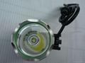 正品进口T6灯珠铝合金外壳强光头灯 2