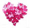 Valentine Gift- Felt Hearts 1