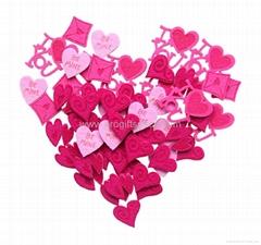 Valentine Gift- Felt Hearts