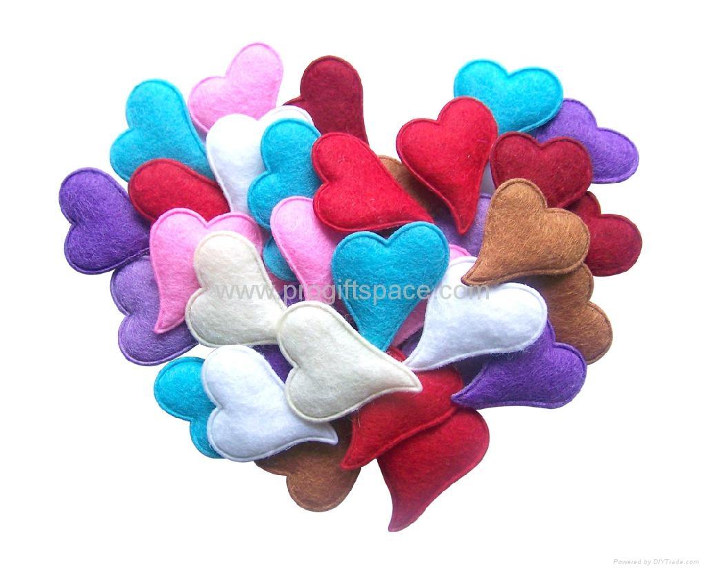 Valentine Gift- Felt Hearts 2