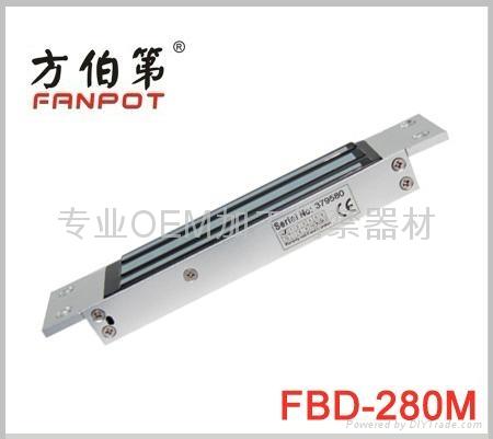 方伯第280kg嵌入式磁力鎖FBD-280M 1