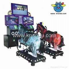 China 2013 horse riding game machine