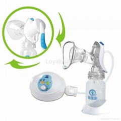 LY-101 Intelligent Electric Manual 2 in 1 Breast Pump Set