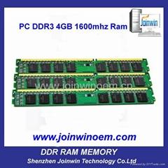 Computer hardware parts memory bank ddr3 4gb desktop