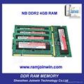 OEM high performance 8bits ddr2 ram 2gb and 4 gb 1