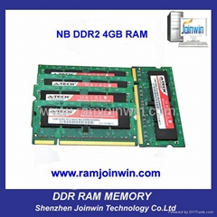 OEM high performance 8bits ddr2 ram 2gb and 4 gb