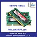 OEM high performance 8bits ddr2 ram 2gb and 4 gb 2