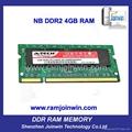 OEM high performance 8bits ddr2 ram 2gb and 4 gb 3