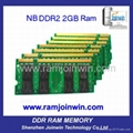 Register trades full compatible laptop Ram DDR2 667 2GB 1