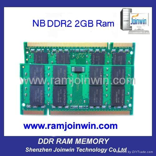 Register trades full compatible laptop Ram DDR2 667 2GB 2