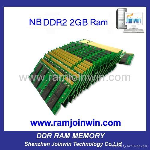 Register trades full compatible laptop Ram DDR2 667 2GB 3