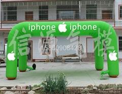 6*4米iphone庆典帐篷拱门气模