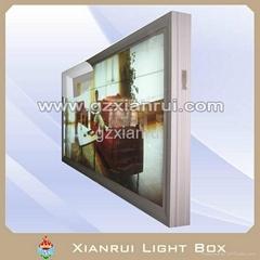 outdoor scrolling light box