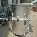 200KG copper scrap melting furnace